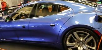 Fisker's Electric Four Door Sports Car