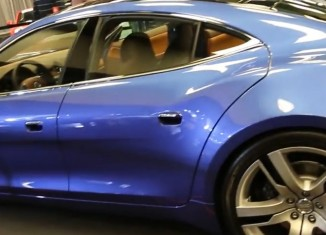 Fisker's Electric Four Door Sports Car