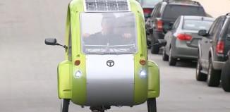 Solar Powered Bicycle Car Hybrid