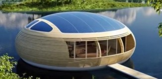 The Solar Powered Floating Home